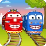 Train Wash Dentist Game - Little Kids Play Doctor to Tune Up Locomotives