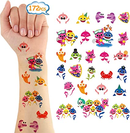 24 x SMILE FACE TEMPORARY TATTOOS BOYS GIRLS FAVORS BIRTHDAY PARTY BAG FILLERS