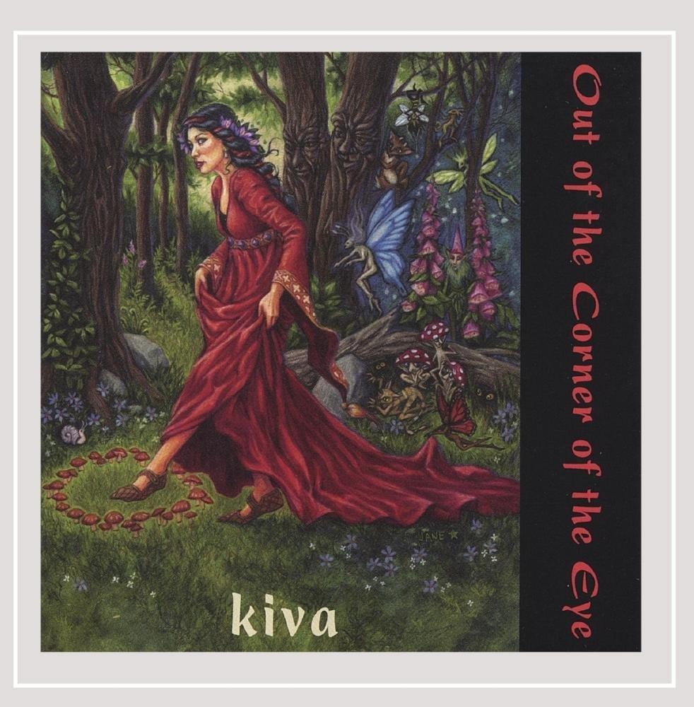 CD : Kiva - Out of the Corner of the Eye (CD)