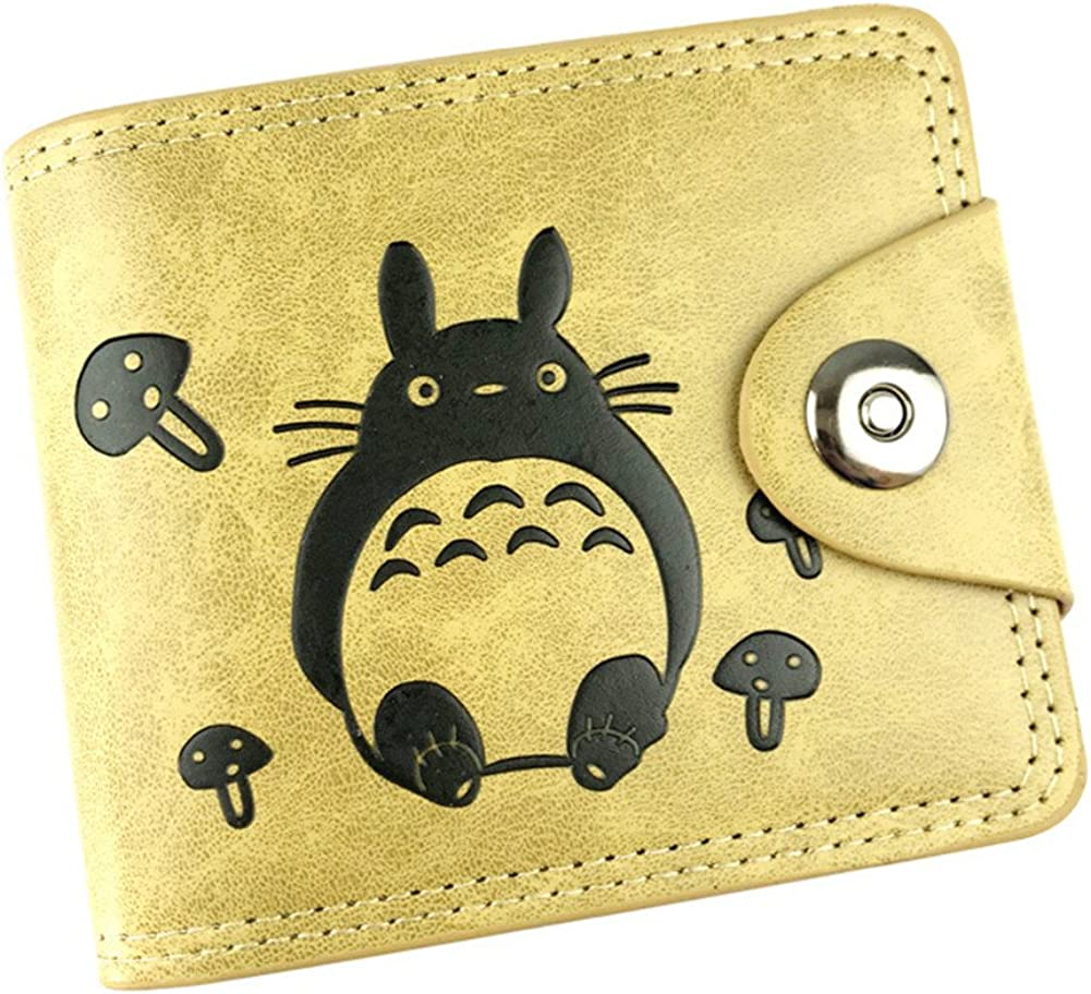 Gumstyle My Neighbor Totoro Anime Cosplay 10 Slots Bifold Wallet Card Holder Purse