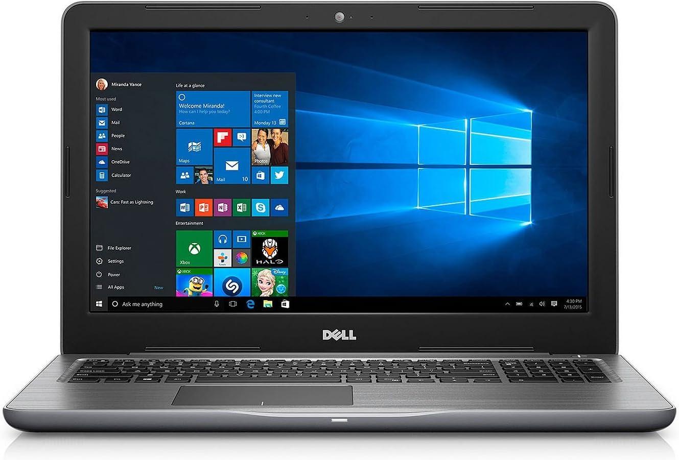 "Dell Inspiron 15.6"" Full HD Touchscreen Flagship Laptop, i7-7500U, 16GB DDR4, 1TB HDD, AMD Radeon R7 M445 Graphics, 802.11ac, Bluetooth 4.2, HD Webcam, 2 x USB 3.0, HDMI, Win 10"