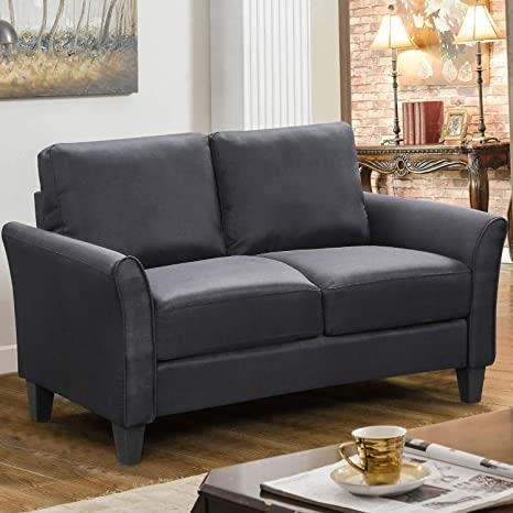 Living Room Furniture Loveseat Fabric Sofa Upholstered Living Room Couch