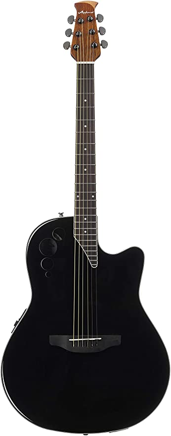 Ovation Applause Guitarra Electro-Acústica Mid Cutaway black ...