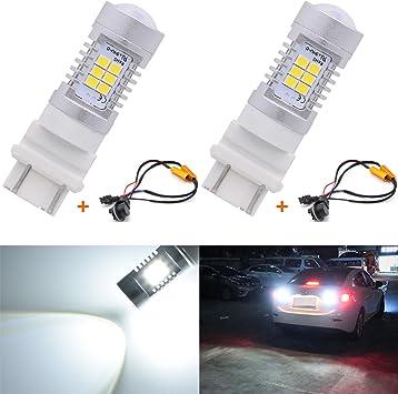 3157 LED Bulb Fix Fast Hyper Flash Turn Signal Canbus Load Resistor US Stock