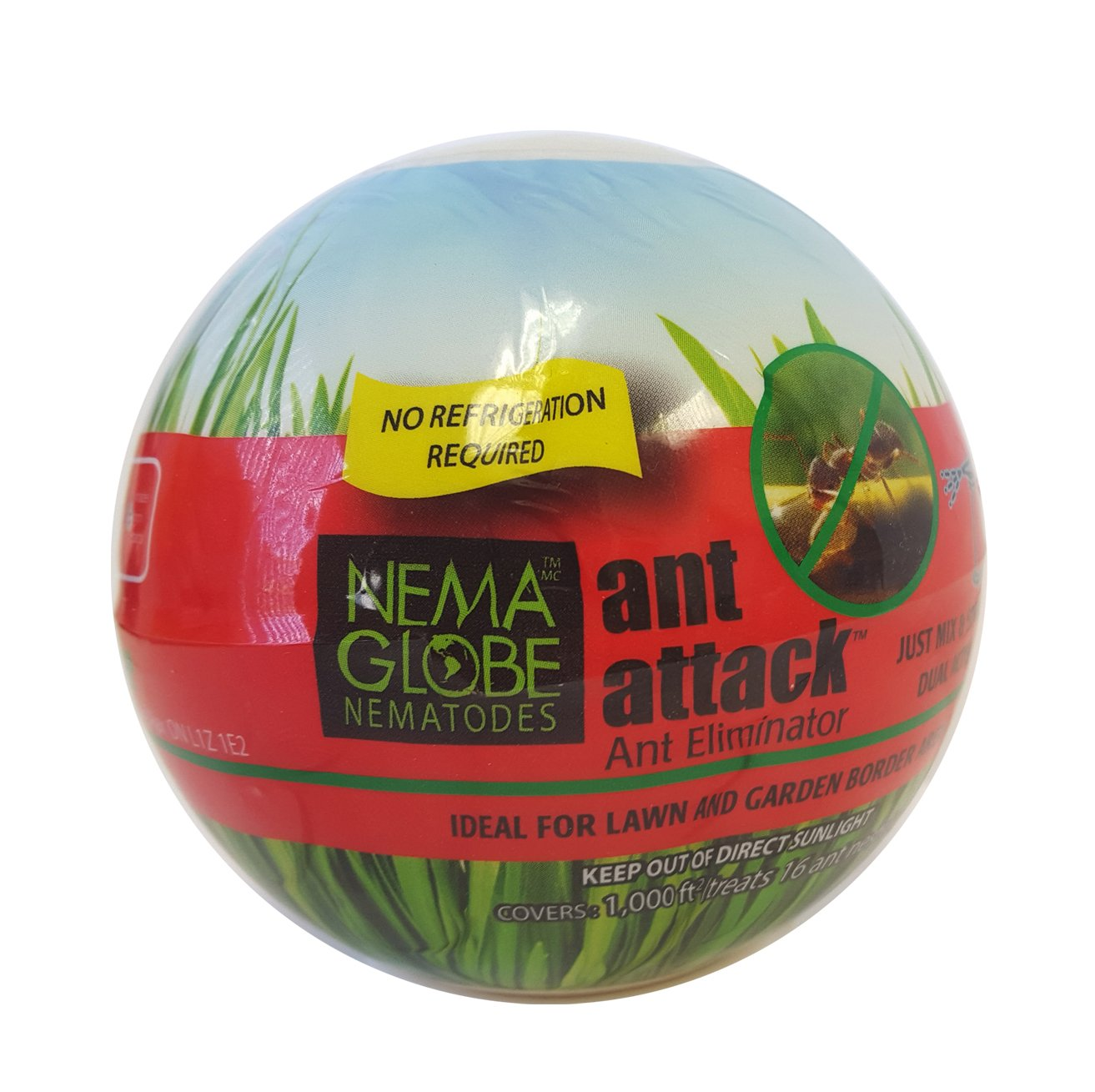 10 million Beneficial Nematodes (S.feltiae) - Nema Globe Ant Attack Tick and Pest Control New''No Refrigeration Required'' Formula