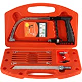 Uolor Magic Handsaw Set, 12 Pcs Home DIY Multifunction Bow Saw for Wood Working, Plastic, Glass, Tile, Metal, Rope, PVC Pipe, Rubber