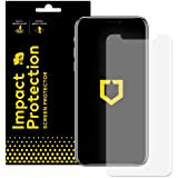 Rhino Shield iPhone X Displayschutzfolie Impact Protection] | Schockdämpfung und Aufprallschutz - Klarer, Kratzfester und Fingerabdruckresistenter Displayschutz - Für Vorderseite