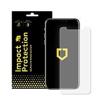RhinoShield Protection Écran pour iPhone XS/X Anti-Chocs | Film Protecteur Haute qualité avec Technologie de Dispersion des Chocs - Transparence 99% et Résistance aux Rayures et aux Traces de Doigts