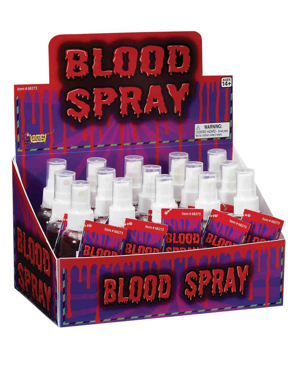 Forum Novelties Froum Novelties Halloween Horror Costume Liquid Blood Spray Vampire Accessory