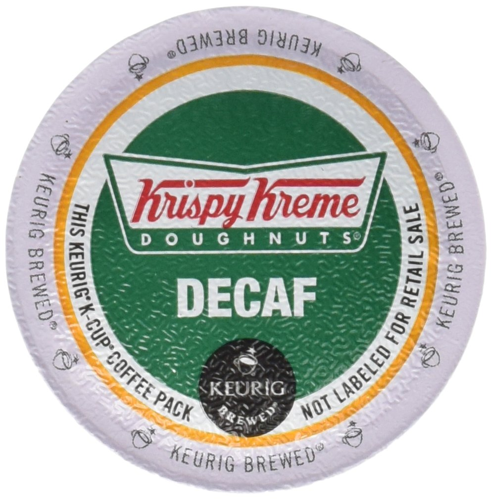 Green Mountain Coffee Roasters Gourmet Single Cup Coffee House Decaf Krispy Kreme, 12 ct