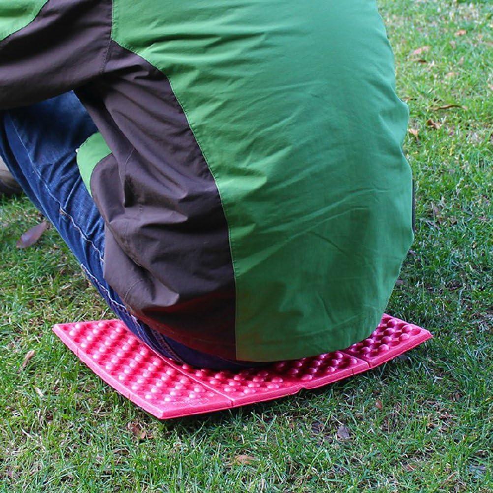WINOMO Faltende im Freien kampierende Matten-Sitz-Schaum-Auflage-Matten-Kissen-Sitz f/ür kampierendes Park-Picknick