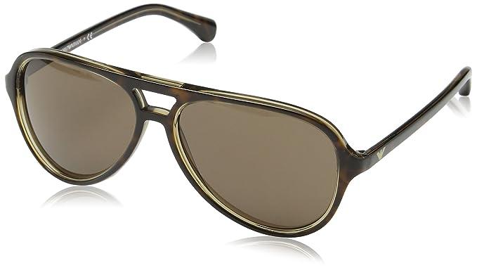 4c9ae1c0205 Image Unavailable. Image not available for. Color  Emporio Armani Men  EA4063 Sunglasses 58mm