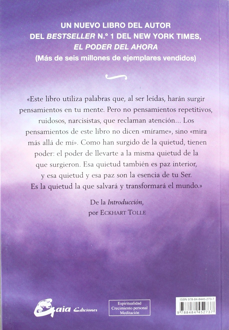 El Silencio Habla (Perenne): Amazon.es: Eckhart Tolle, Miguel Iribarren  Berrade: Libros