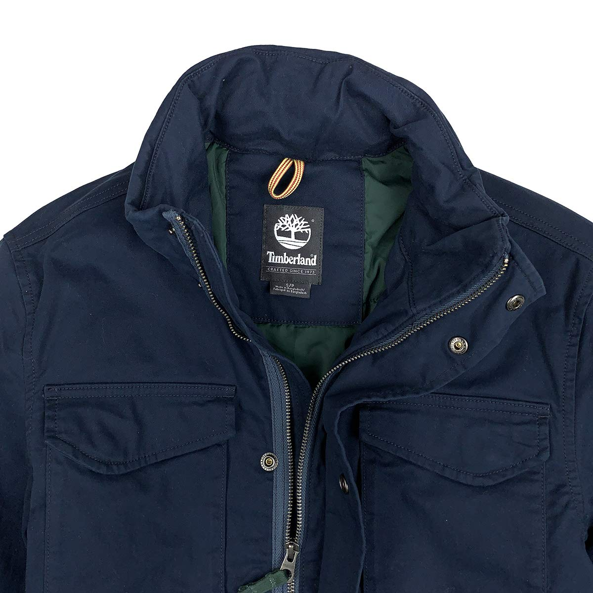 Timberland Men's MT. Kelsey M65 Canvas Jacket at Amazon