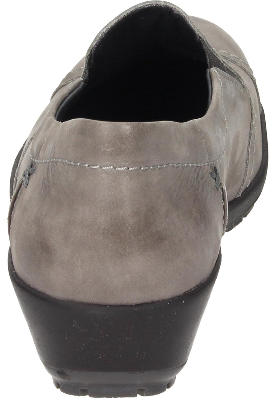 9 Gr/össe 35 Comfortabel Damen-Slipper grau