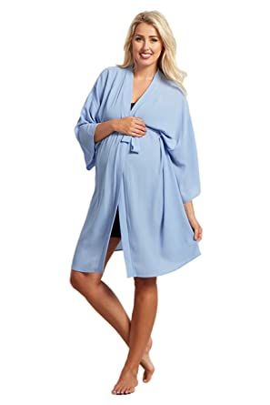 9c316d13ac7 PinkBlush Maternity Royal Solid Delivery Nursing Robe at Amazon Women s  Clothing store