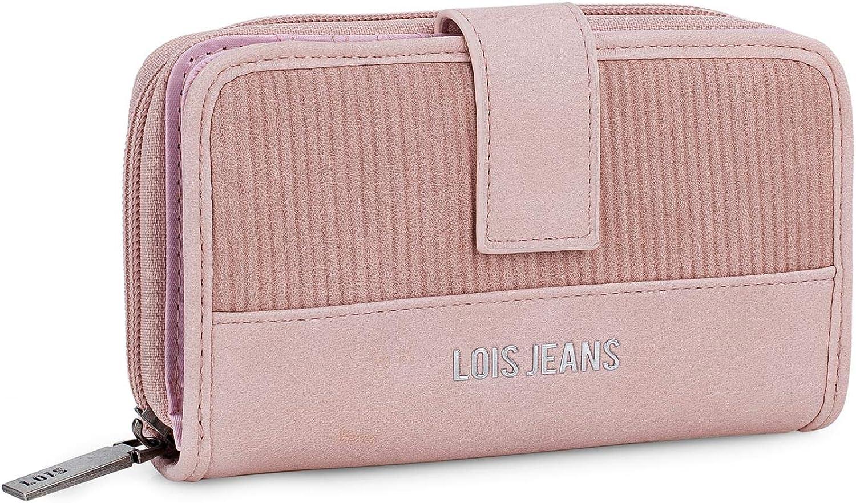 Lois - Bolso de hombro para mujer Piel sintética de poliuretano. Bolso bandolera. Perfecto para cada día. Práctico, suave y elegante. 303730.