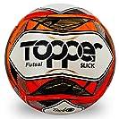 Bola Topper Slick II Futsal Vermelha Neon