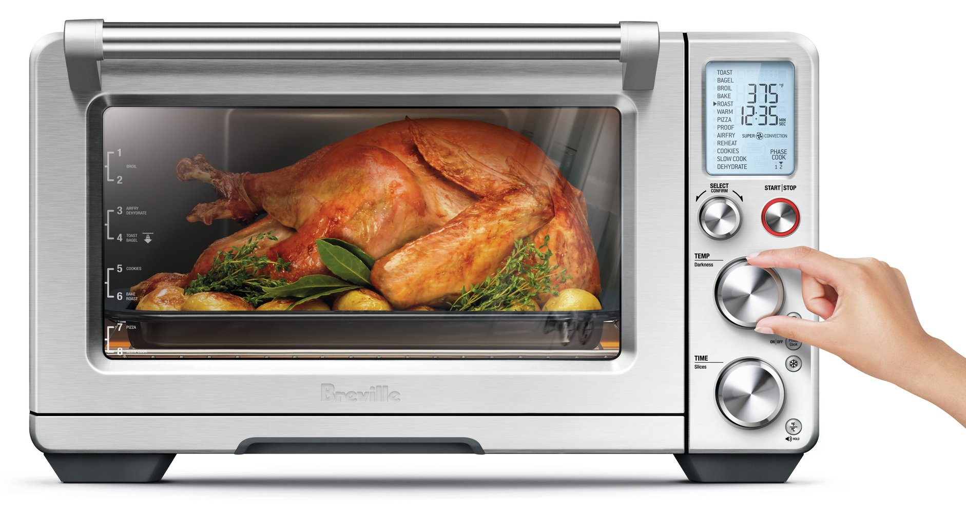 Breville BOV900BSS The Smart Oven Air, Silver by Breville