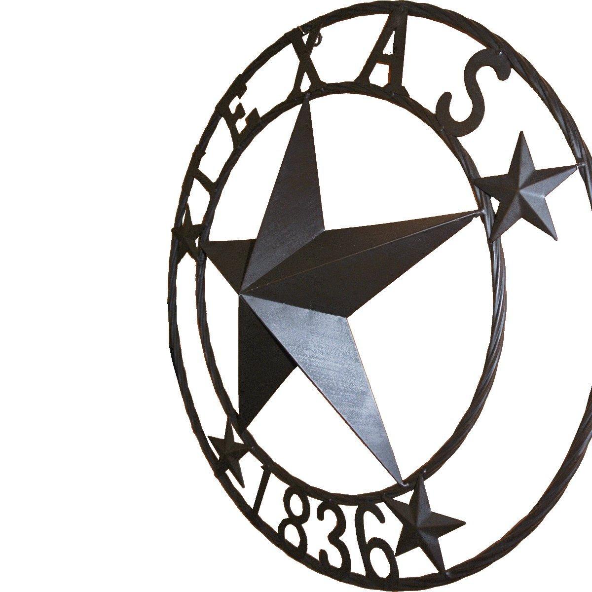 LL Home 21683 Texas 1836 Metal Star
