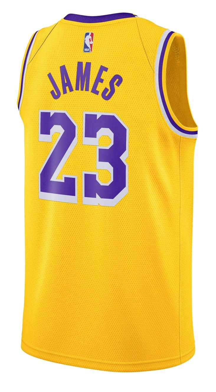 Amazon.com   Outerstuff Boy s Los Angeles Lakers Lebron James Icon Edition  Swingman Jersey   Sports   Outdoors e64436706