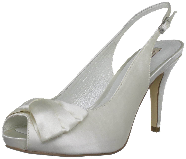 Menbur Wedding Kaila Damen Slingback Sandalen Elfenbein Elfenbein Elfenbein (Ivory 04) 66ad38