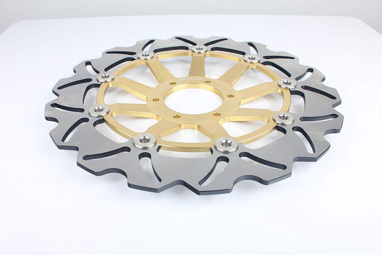 TARAZON 2 piezas para CBR600F CBR600F4 CBR 600 F F4 1999 2000// CBR900RR CBR 900 RR 1992 1993// GL 1500 Valkyrie SC34 97-03// Gold Wing 1800 Disco Discos de Freno Delantero