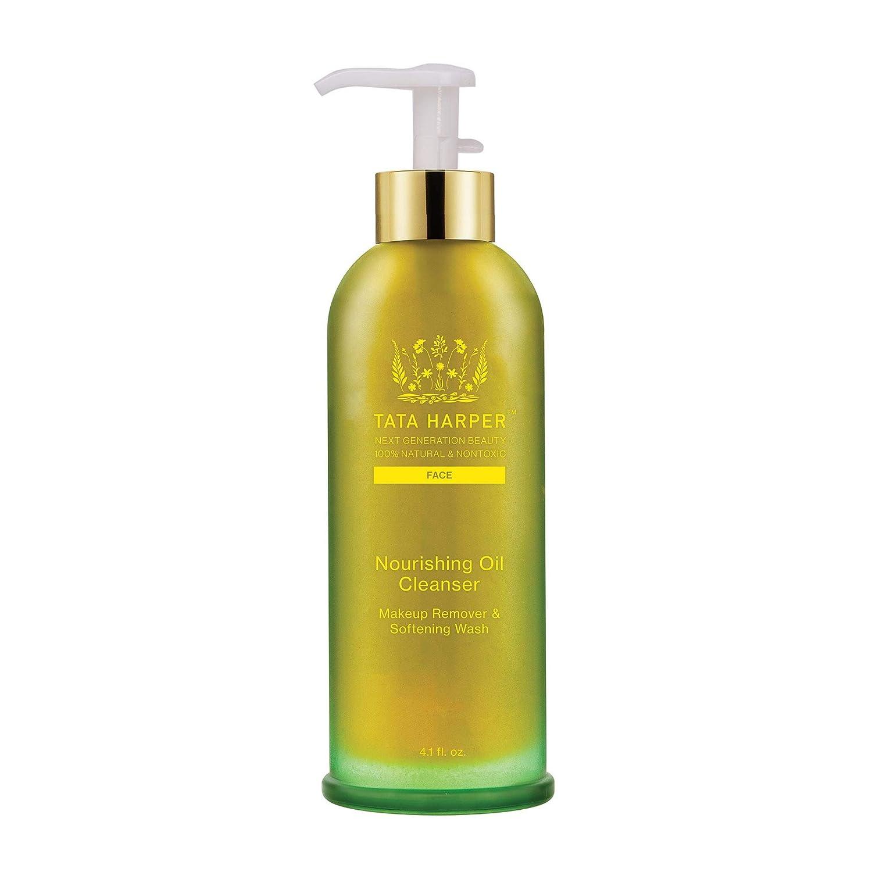 Tata Harper Nourishing Oil Cleanser | 100% Natural & Non Toxic | Silky, Multi-Vitamin Cleansing Oil & Makeup Remover | 125ml