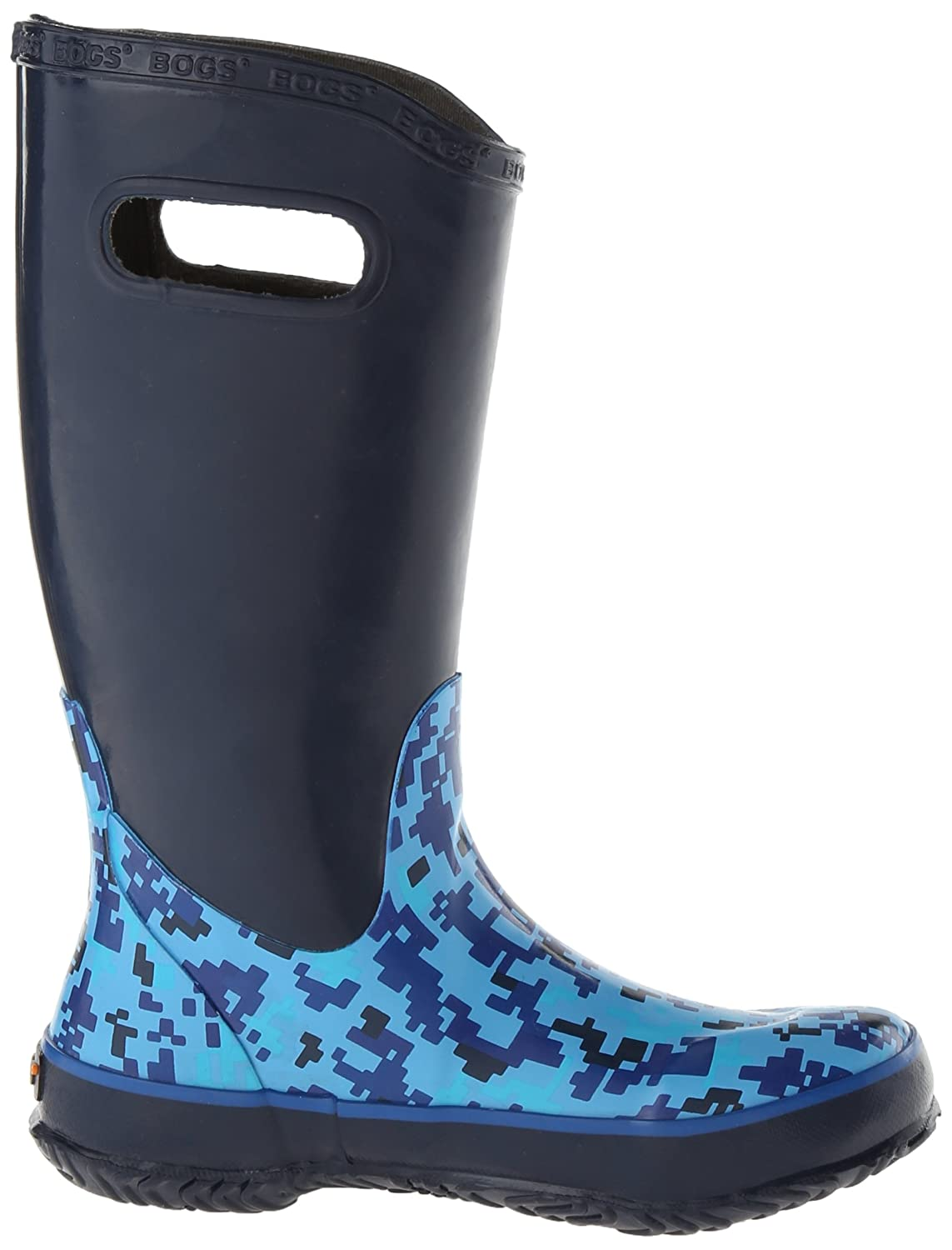 Bogs Kids Rubber Boot Waterproof Boys and Girls Rain Bogs Kids/' Rubber Boot Waterproof Boys and Girls Rain Rainboot K