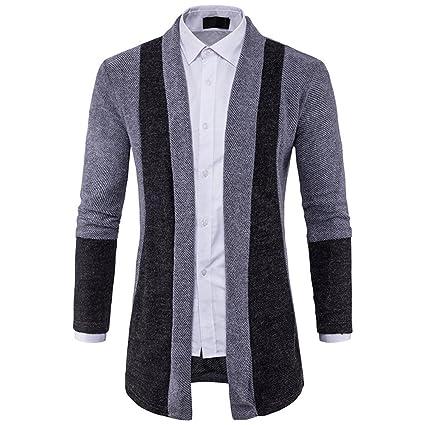 Chaqueta Formal para Los Hombres de Costura de Moda, Abrigo de Color Liso para los