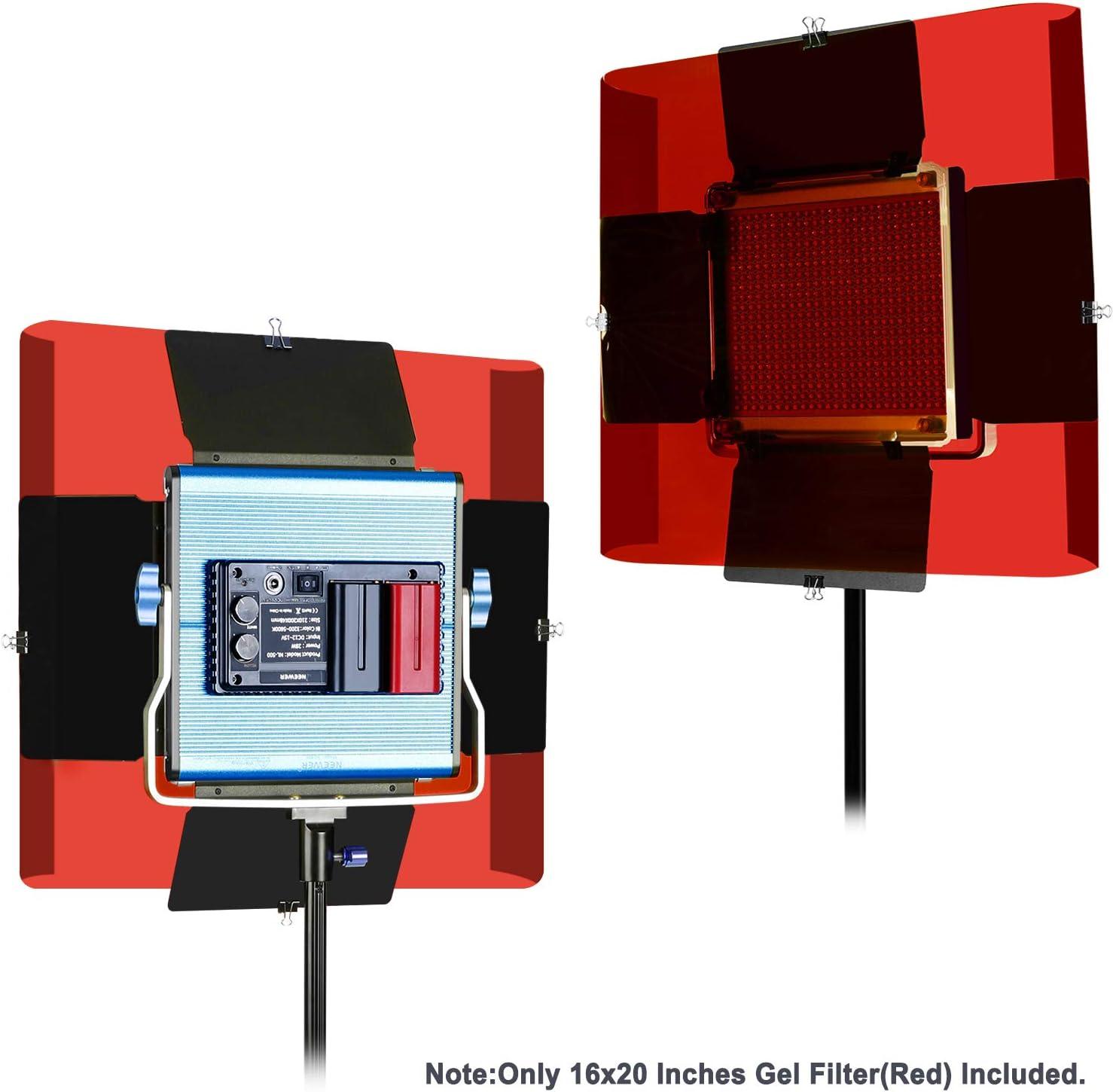 Neewer 16x20 Zoll Gel Farbfilter Farbige Kamera