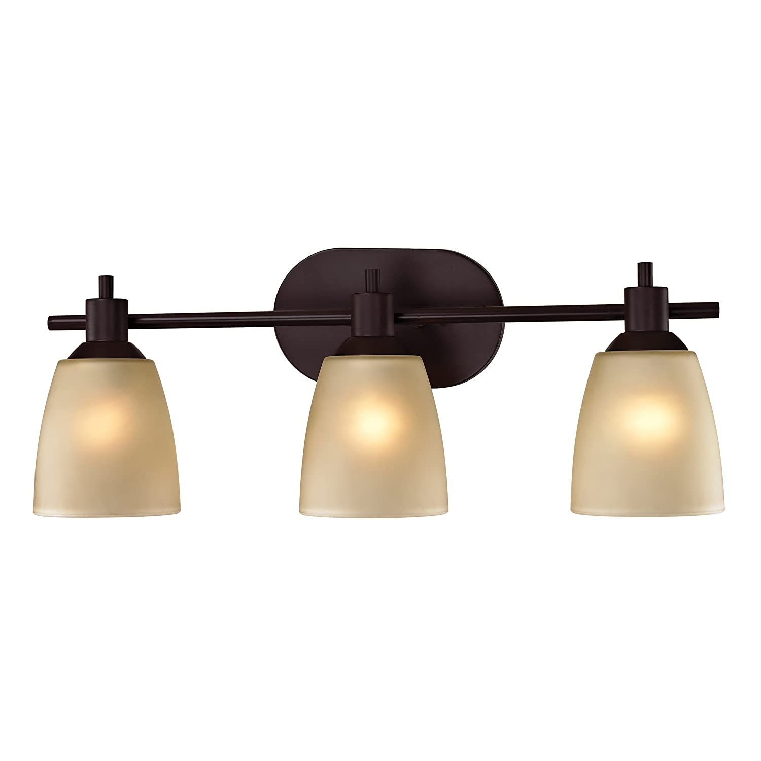 Thomas Lighting Jackson 3-light Bath Bar, Oil Rubbed Bronze Finish ...