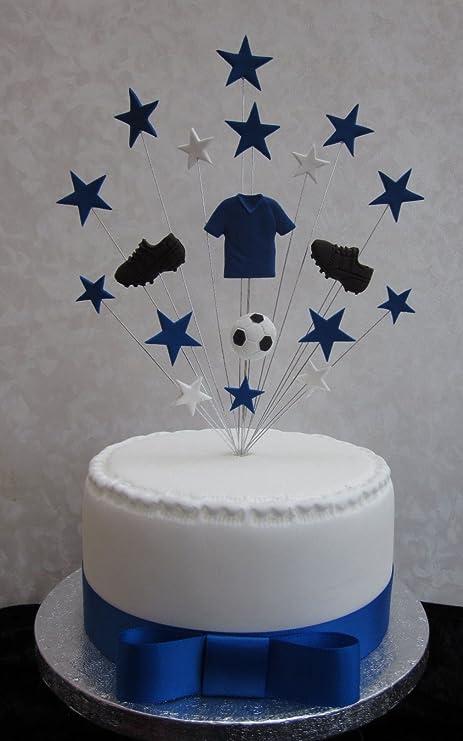 Miraculous Chelsea Everton Football Birthday Cake Topper Suitable For A 20Cm Personalised Birthday Cards Veneteletsinfo