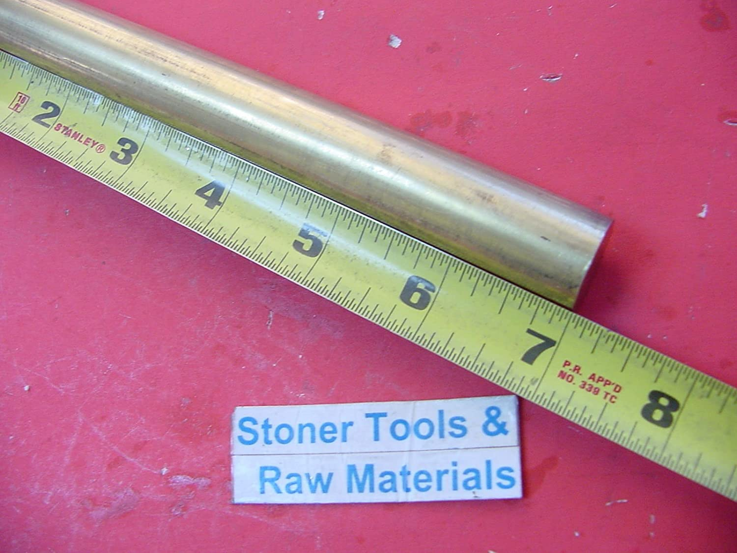 "4 Pieces 7//8/"" C360 BRASS SOLID ROUND ROD 1/"" long New Lathe Bar Stock .875/"" H02"