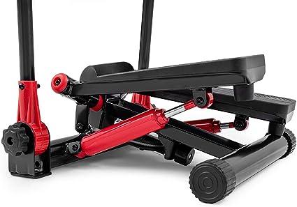 Trainingscomputer Hop-Sport Swing Stepper HS-45S Slim Up-Down-Side-Stepper f/ür Zuhause Ganzk/örpertraining inkl