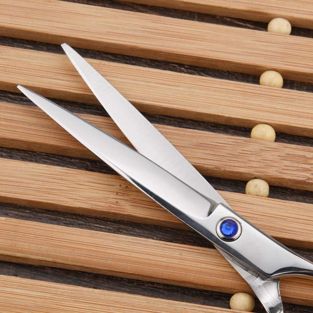 ZXZ-GO ZXZ-GO ZXZ-GO Frisur Haar Schere6.0inch Silber Grau mit Bohrer Schere Haar Schere flache Schnitt gebrochenes Haar schneiden , B B076GXBR7Z   Zu einem erschwinglichen Preis  7331d3