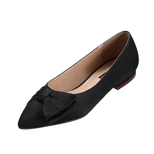 Amazon Erijunor Wedding Flats Comfortable Flat Shoes For Women