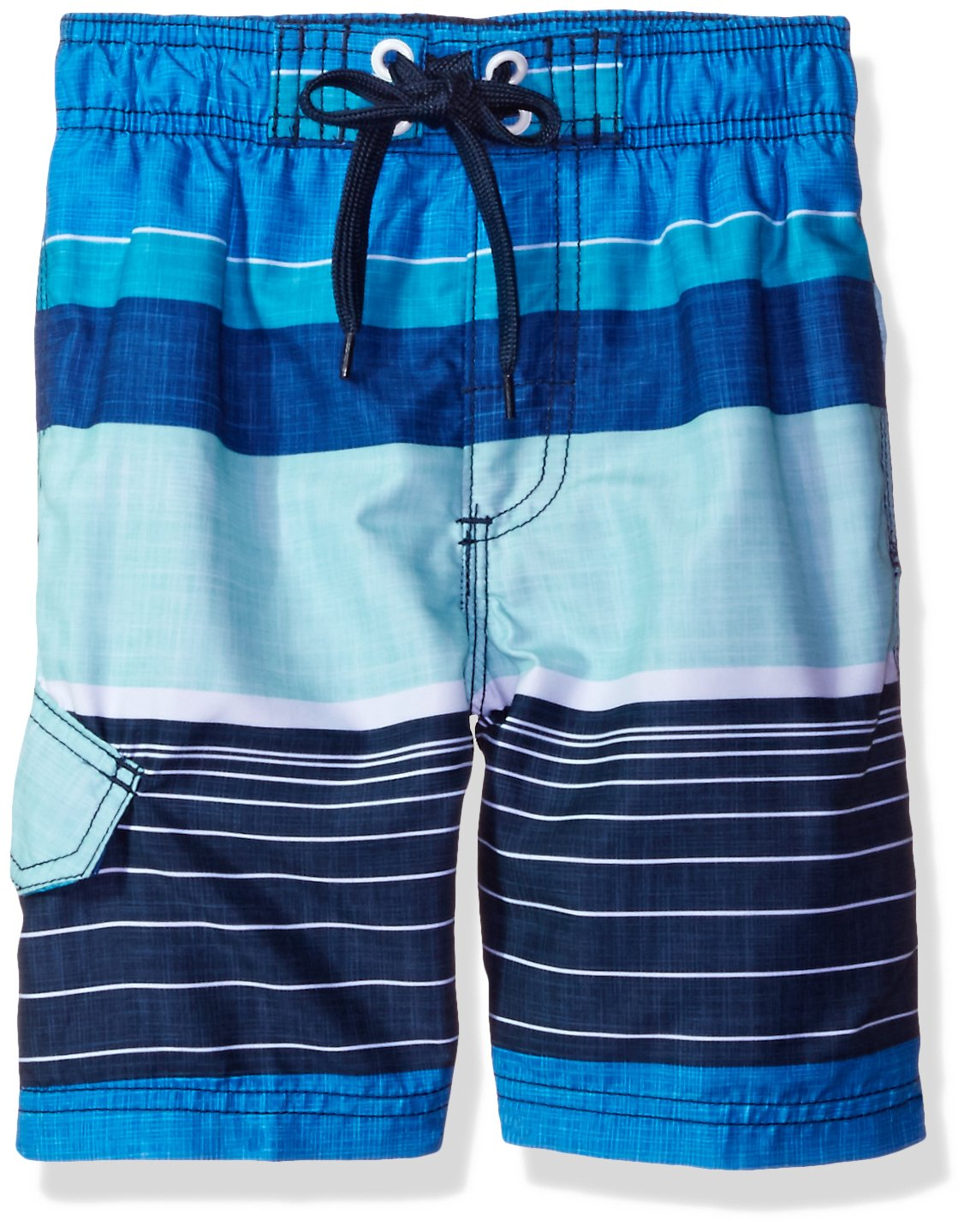 Kanu Surf Boys' Viper Stripe Swim Trunk 4419