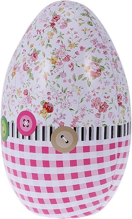 Sharplace - Caja sorpresa metálica con forma de huevo de Pascua y ...