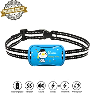 petamer Shock Collar Rechargeable Waterproof Anti bark Collar...