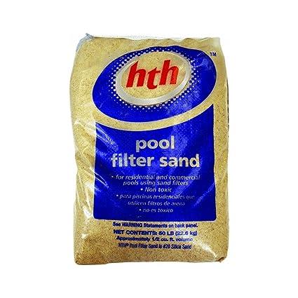 .com : hth pool sand pool filter sand (67074) : swimming pool ...