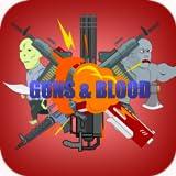gun and blood - Guns and Blood: 2D Zombie Shooter