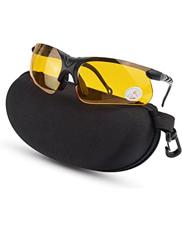 Glasses, Goggles & Shields Unisex Safety Over Glasses Safety Grey Plastic 100 Uv Protection Lawncare