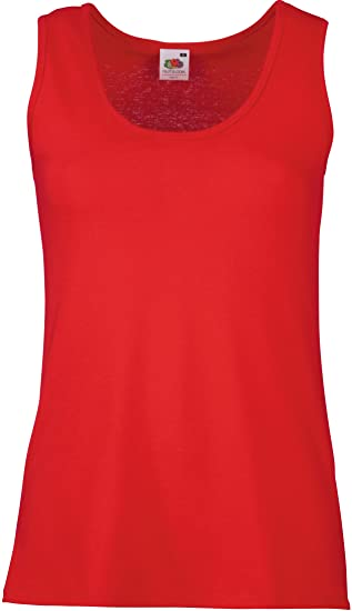 62d96ddb335e26 Fruit of the Loom Damen Sport Tank Top Valueweight Vest Lady-fit   Amazon.de  Bekleidung