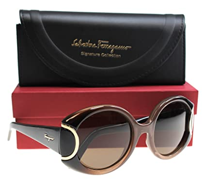 308d64ffb8 Image Unavailable. Image not available for. Color  Salvatore Ferragamo  Womens Women s Sf811s Signature 54Mm Sunglasses