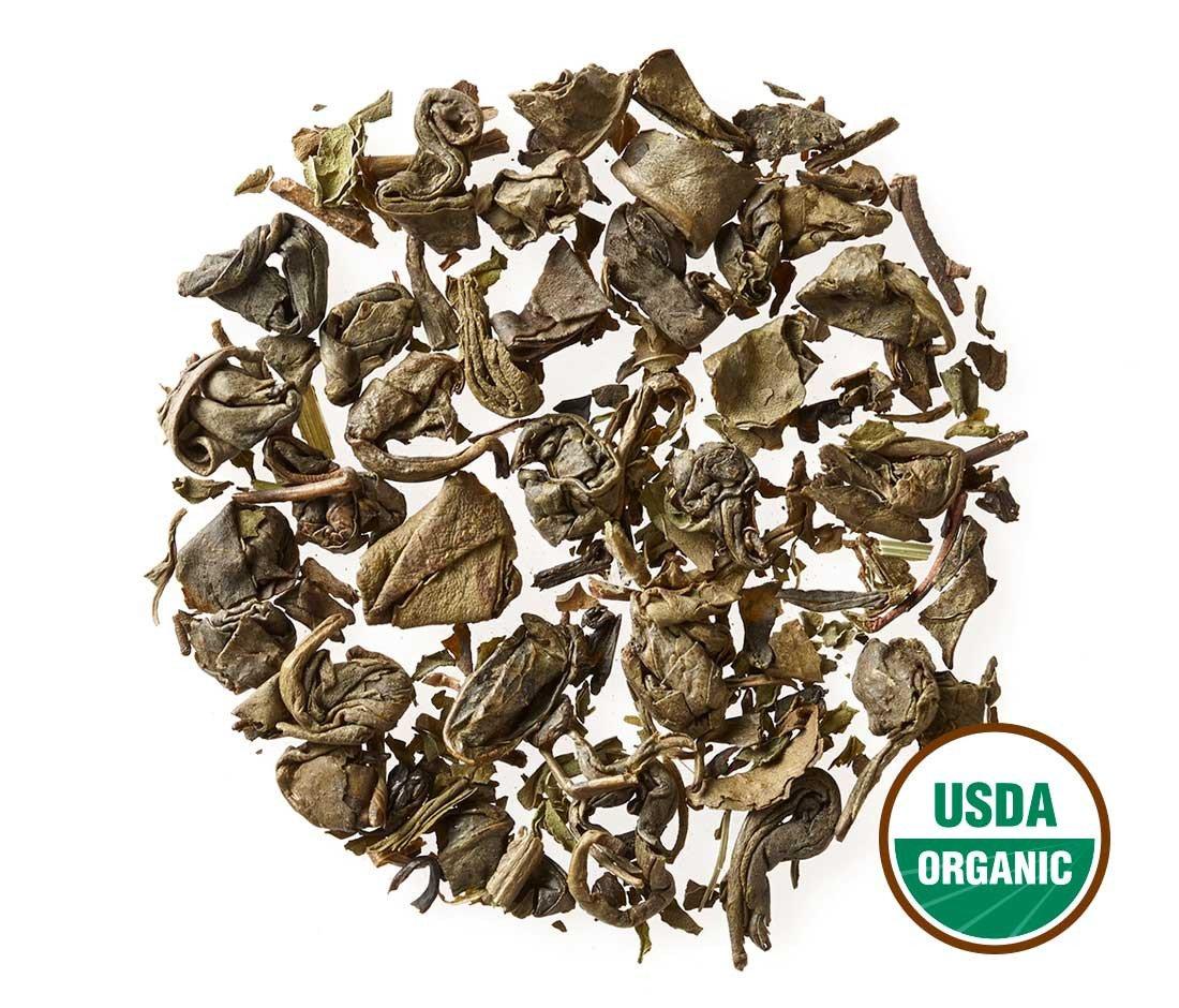 Moroccan Mint Tea - Organic - Loose Leaf - Bulk - Non GMO - 192 Servings by Golden Moon Tea