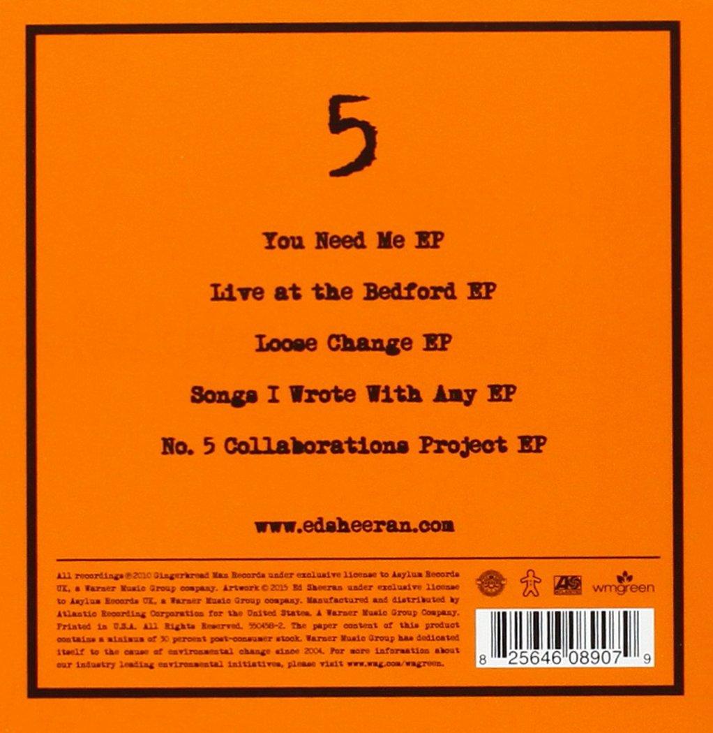 5: Ed Sheeran: Amazon.es: Música