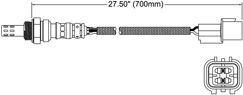 ACDelco 213-3930 Professional Heated Oxygen Sensor