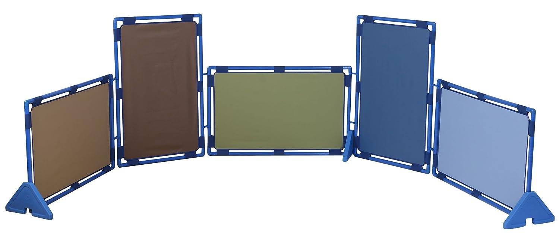 Cozy Woodland Play paneles – Juego de 5 rectángulos