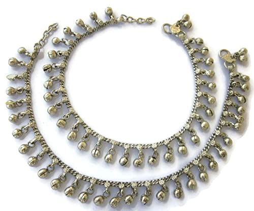 Helpful White Indian Bollywood Anklet Women Jewelry Adjustable Bridal Boho Foot Payal Online Shop Jewelry & Watches